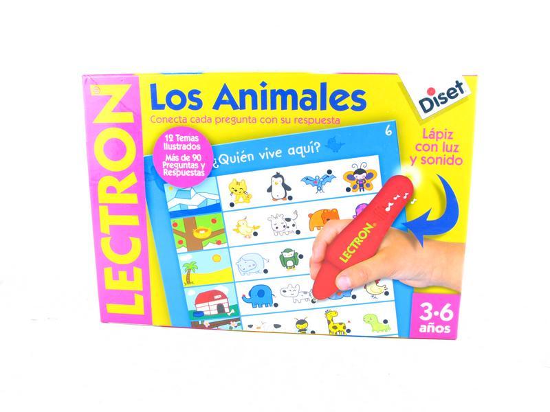 Juego De Mesa Diset Lectron Los Animales 6 00 Segunda Mano Gijon