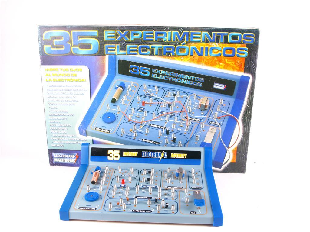 Juego De Mesa 35 Experimentos Electronicos 10 00 Segunda Mano