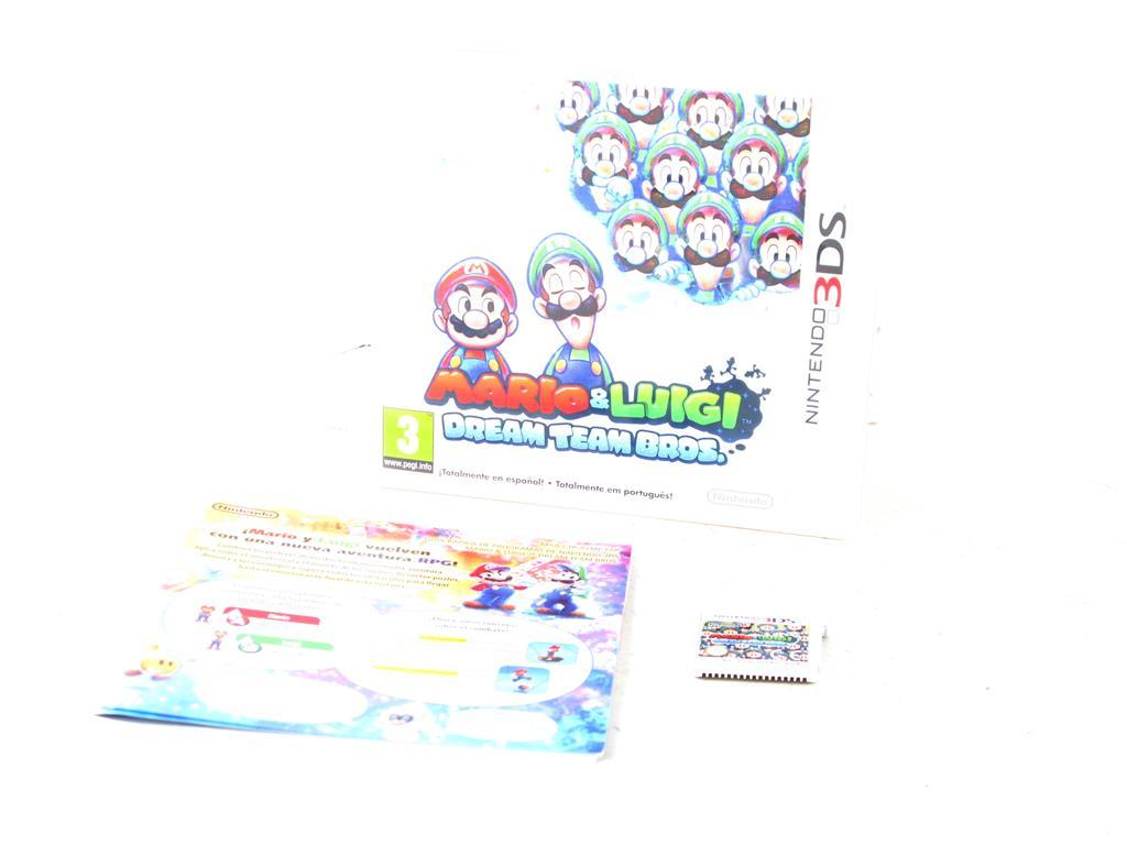 Nintendo 3ds Juegos Mario Y Luigi Dream Team Bros 10 00 Segunda