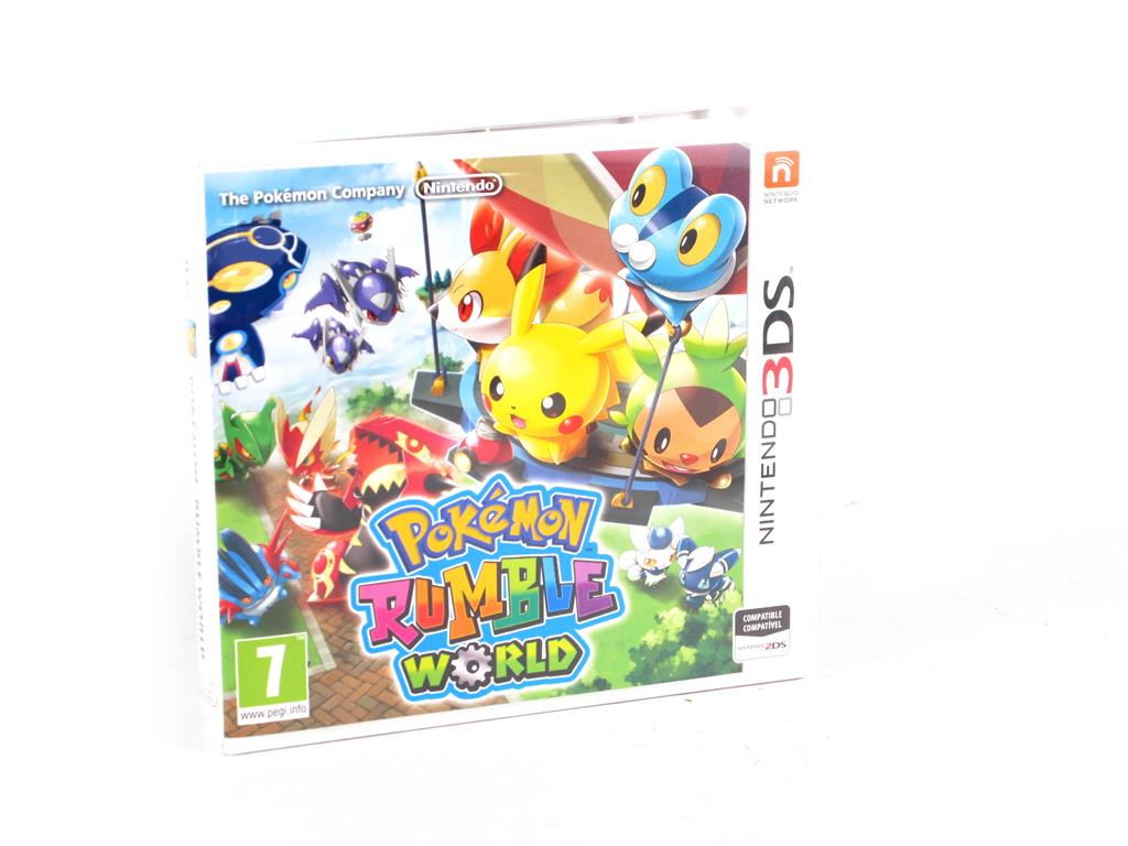 Nintendo 3ds Juegos Pokemon Rumble World 19 99 Segunda Mano Gijon