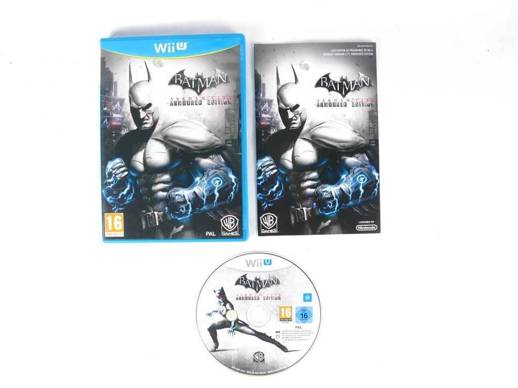 Nintendo Wii U Juegos Batman Arkham City 10 00 Segunda Mano Gijon