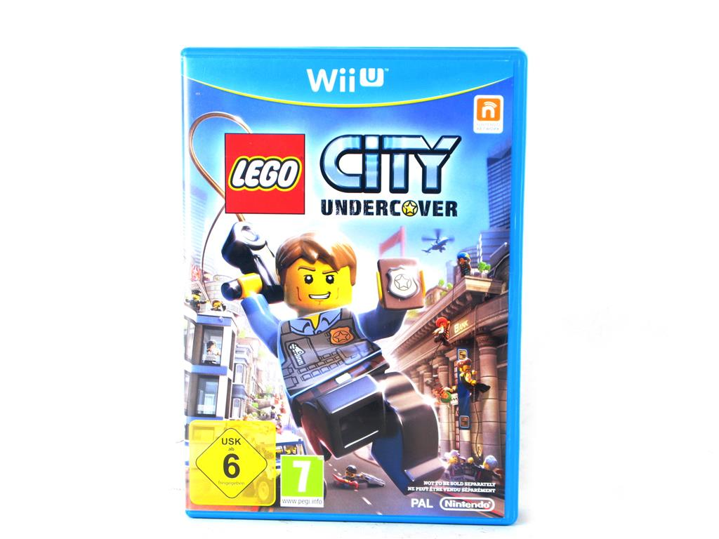 Nintendo Wii U Juegos Lego City Undercover 10 00 Segunda Mano