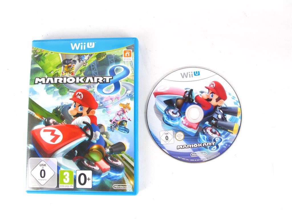 Nintendo Wii U Juegos Mario Kart 8 20 00 Segunda Mano Gijon E46244 0