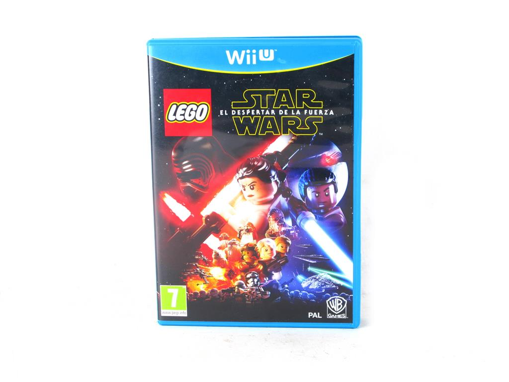 Nintendo Wii U Juegos Star Wars El Despertar De La Fuerza 10 00