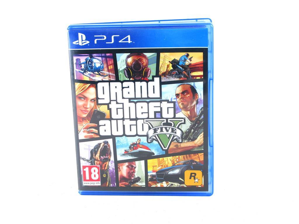 Playstation4 Juegos Grand Theft Auto V 20 00 Segunda Mano Gijon