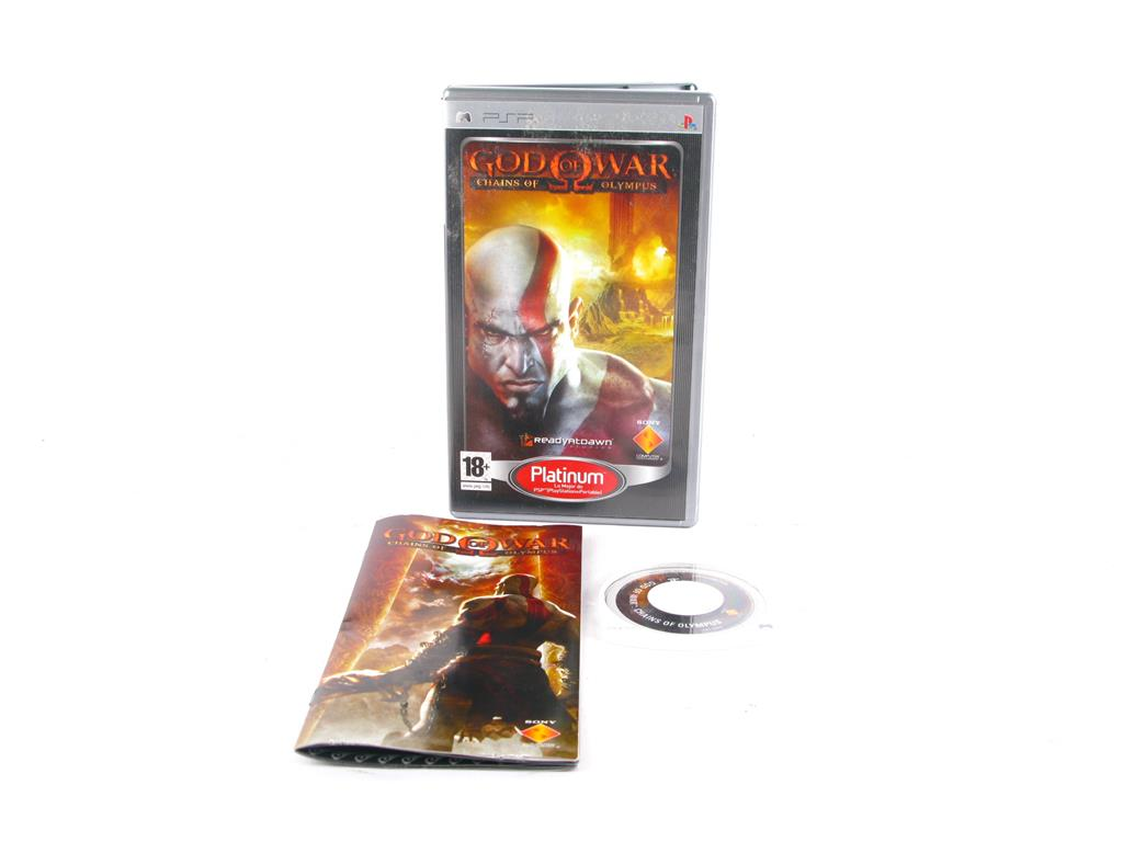PSP JUEGOS GOD OF WAR CHAINS OF OLYMPUS