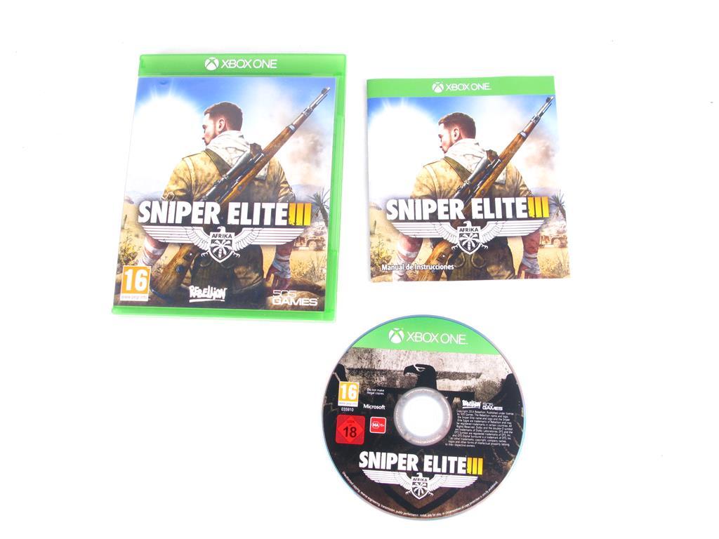 Xbox One Juegos Sniper Elite Iii 6 00 Segunda Mano Gijon E46139 0